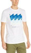 Original Penguin Men's Short Sleeve Surf Comp T-Shirt