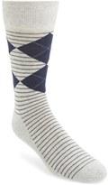 Nordstrom Men's 'Cushion Foot' Argyle & Stripe Socks