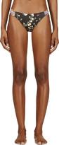 Roseanna Black Floral Print Duo Bikini Bottom