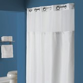 Hookless Classic Herringbone Shower Curtain & Liner