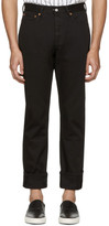 Our Legacy Black First Cut Jeans