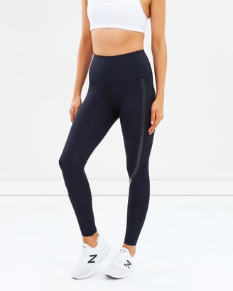 2XU Women's Black Tights - Hi-Rise Compression Tights - Size XS at The Iconic