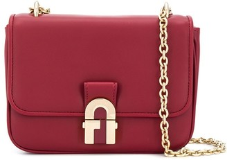Furla Foldover Top Shoulder Bag