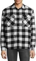 VSTR PREMIUM Men's Flannel Cotton Casual Button-Down Shirt