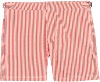 Bugatchi Stripe Board Shorts