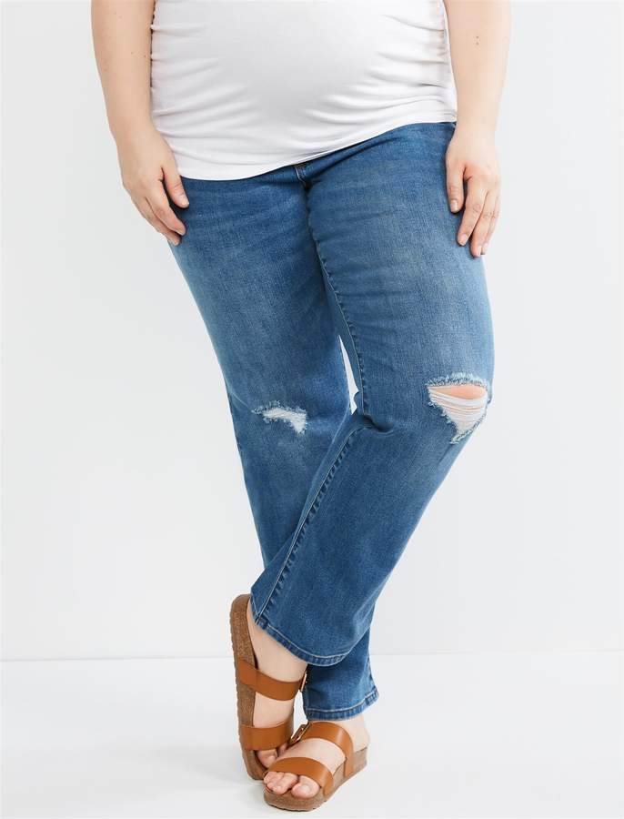 e6a7355970e87 Indigo Blue Maternity Jeans - ShopStyle