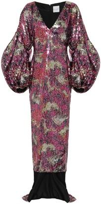 Halpern Sequined gown