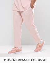 Puma Plus Waffle Joggers In Pink Exclusive To Asos