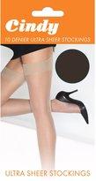 Cindy Womens/Ladies 10 Denier Ultra Sheer Stockings (1 Pair)