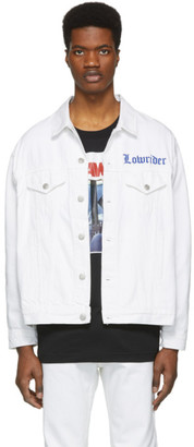 Adaptation White Denim Jacket