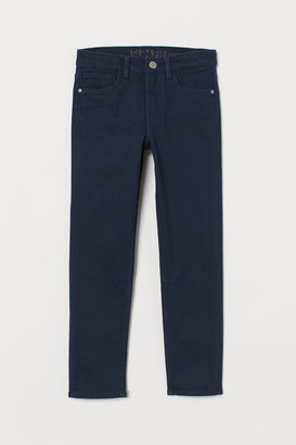 H&M Slim Fit twill trousers