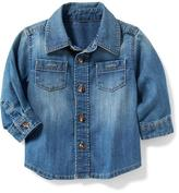 Old Navy Chambray Pocket Shirt for Baby