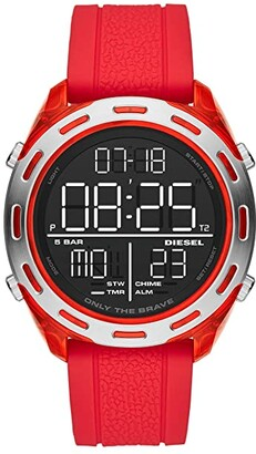 Diesel Crusher - DZ1900 (Red) Watches
