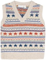 Jo-Jo JoJo Maman Bebe Fair Isle Tank Top (Toddler/Kid) - Natural-2-3 Years