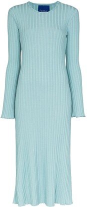 Simon Miller Wells ribbed knit midi dress
