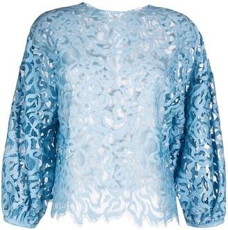 Roseanna Arabesque lace blouse
