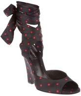 Dolce & Gabbana Polka dot wedges