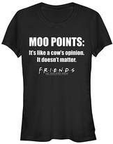 Friends Women's Tee Shirts BLACK - Friends Black 'Moo Points' Tee - Women
