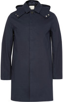 Mackintosh - Waterproof Cotton Hooded Raincoat