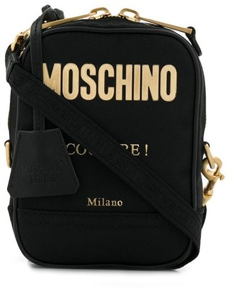 Moschino Zipped Shoulder Bag