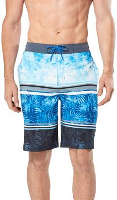 Speedo Men's Washed Striped Palm Board Shorts