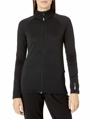 Roxy Women's Dailyrun Fleece Full Zip Jacket