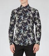 Reiss Ventus Floral Print Shirt