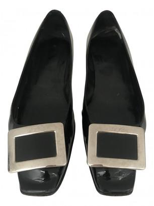 Roger Vivier Black Patent leather Flats