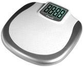 Escali XL Display Bathroom Scale - White/ Silver