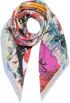 Christian Lacroix 20 Ans Pure Silk Women's Square Scarf