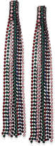INC International Concepts Multi-Tone Chain Tassel Linear Drop Earrings, Created for Macy's