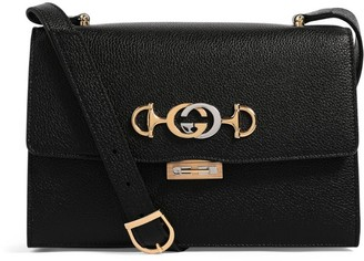 Gucci Leather Zumi Shoulder Bag