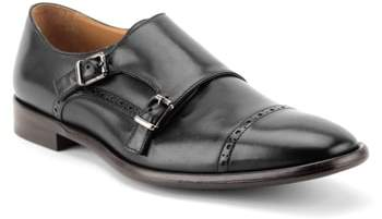 Gordon Rush Corbett Cap Toe Double Strap Monk Shoe