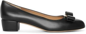 Salvatore Ferragamo Vara bow leather pumps
