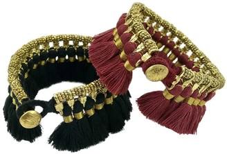 Slate & Salt Kyra Tassel Bracelet
