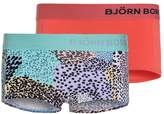 Bjorn Borg 2 PACK Shorts aruba blue