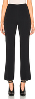Giambattista Valli Cropped Flare Cady Trousers