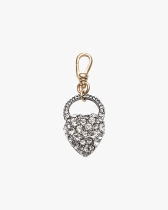 Lulu Frost Crystal Heart Charm