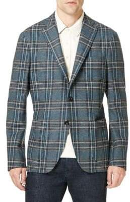 Etro Plaid Sportcoat