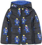 Fendi Reversible signature print padded jacket