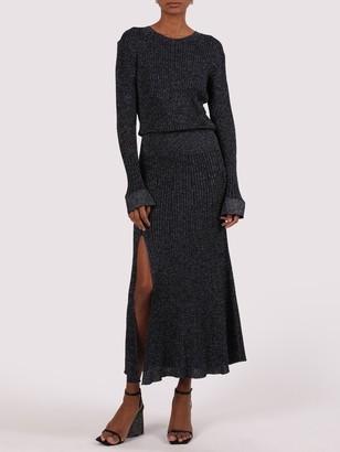 Chloé Naxy Lurex Maxi Dress