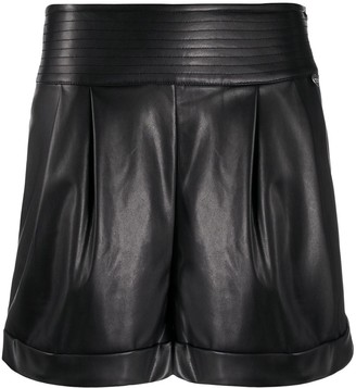 Twin-Set High Waisted Pleated Shorts