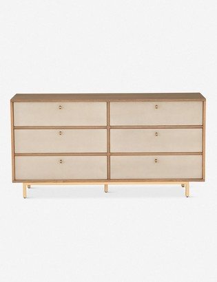 Lulu & Georgia Panthea 6-Drawer Dresser