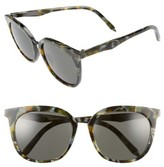 Victoria Beckham Women's Combination Classic 56Mm Sunglasses - Amber Tortoise Shell