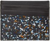 Maison Margiela Black Paint Splatter Card Holder
