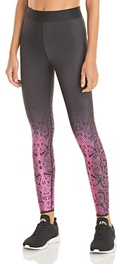 COR designed by Ultracor Ombre Snake Print Leggings