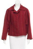 Carolina Herrera Plaid Oversize Jacket