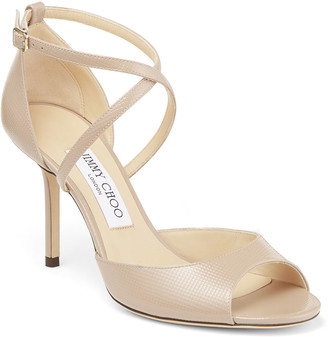 Jimmy Choo Emsy 85mm Leather Sandals