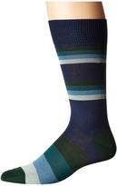 Paul Smith Boston Stripe Socks Men's Quarter Length Socks Shoes