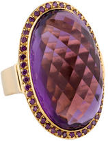 Moritz Glik 18K Amethyst and Diamond Ring